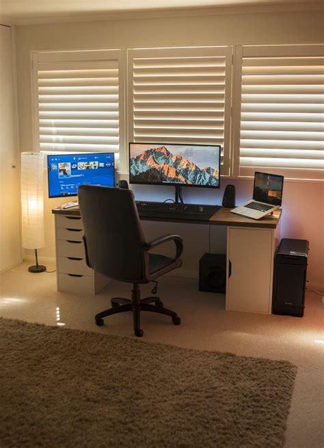 gaming desk setup ideas computer desk setups