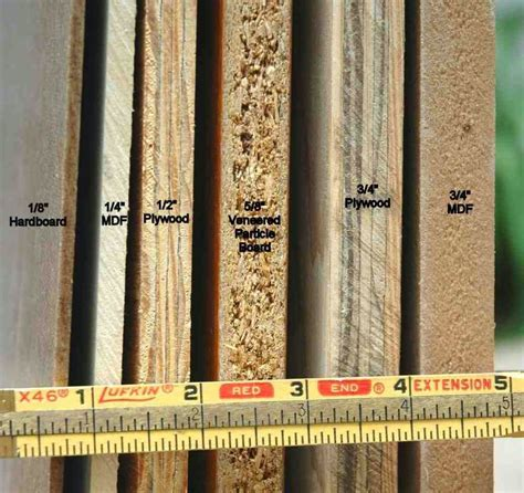 MDF vs HDF   The difference between MDF and HDF boards