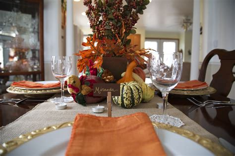 Decoration Ideas: Thanksgiving Table Decor On A Budget