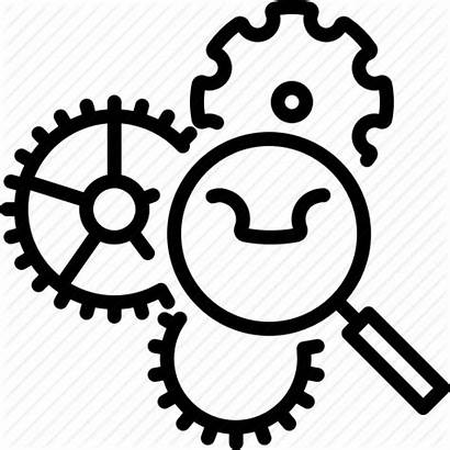 Functional Analysis Icon Usability Gear Programming Icons