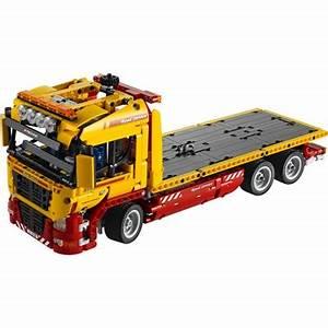 Lego Technic Camion : camion remorque lego robot advance ~ Nature-et-papiers.com Idées de Décoration