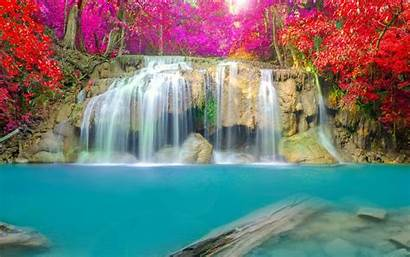 Waterfall Screensavers Wallpapers Jungle Desktop Laptop Mobile