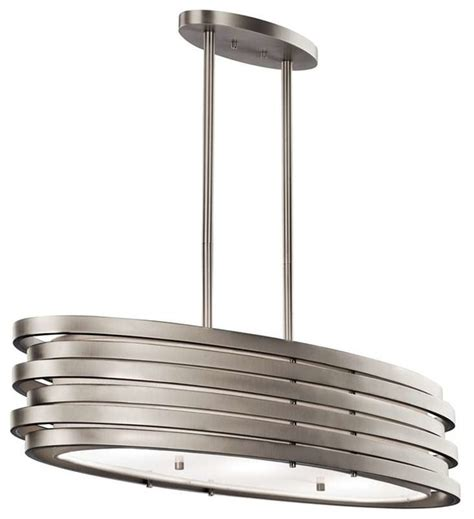 kichler lighting 43303ni roswell contemporary chandelier