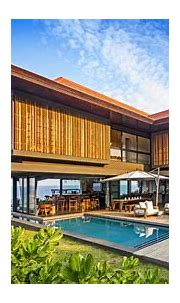 Coastal Home with Tropical Modern Architecture and ...