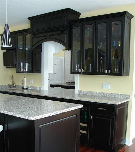 kitchen ideas with cabinets 23 beautiful kitchen designs with black cabinets page 3 of 5