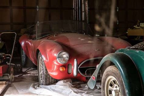 Ferrari, Cobra Worth  Million Found In Condemned Nc