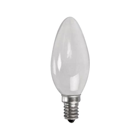 sylvania candle bulb 40w e14 ses frosted bunnings warehouse