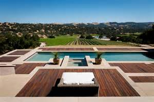 Concrete Patio Floor Ideas by Composite Decking Vs Wood Pool Contemporary With Concrete