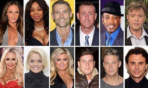 celebrity big brother 2016 line up includes gemma collins
