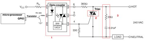 Triac Dimmer Circuit Design Help Resistive Load