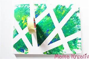 Malen Mit Wasserfarben : 4 ideen zum malen mit kindern auf leinwand video mama kreativ ~ Orissabook.com Haus und Dekorationen