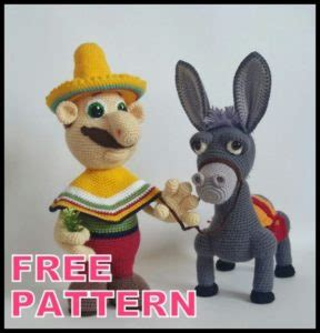 Blue donkey coffee prides itself in using only 100% natural ingredients and in working closely with local producers to get the freshest ingredients possible. Amigurumi Dinky Donkey Free Crochet Pattern - Amigurumi ...