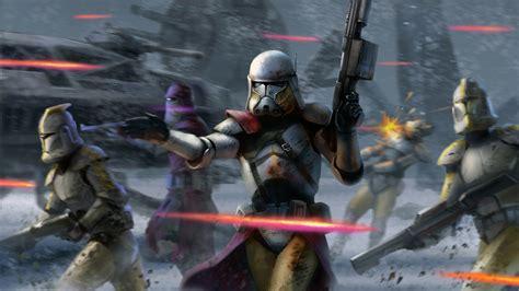 Star Wars Clone Trooper Wallpaper Star Wars Clone Wars Wallpaper Wallpapersafari