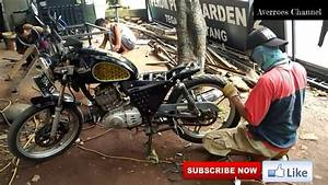 Membangun Motor Japstyle Basic Motor Suzuki Thunder N 125