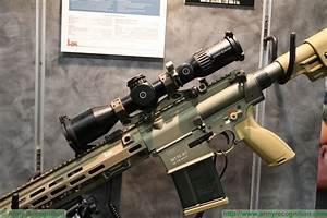 New HK M110A1 7.62mm Semi-Automatic Sniper Rifle at AUSA ...