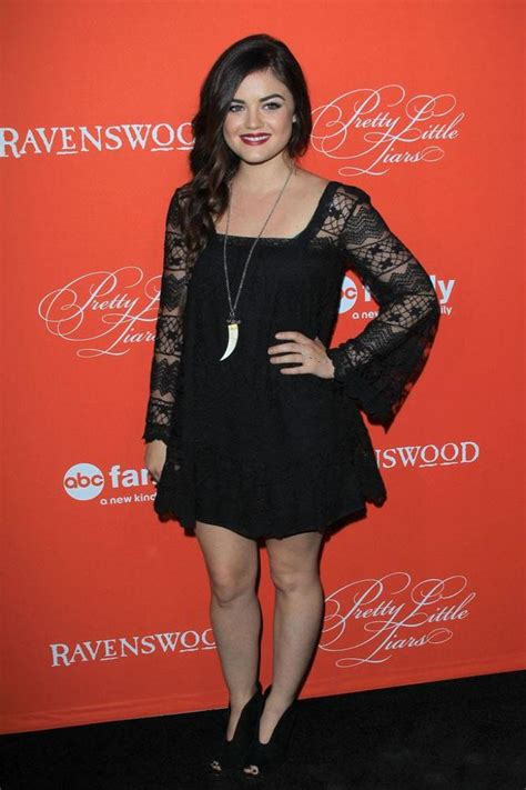 Lucy Hale is a big fan of the Little Black Dress