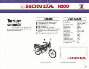Honda H100 And H100s Singles 1980  U2013 1992 Haynes Owners