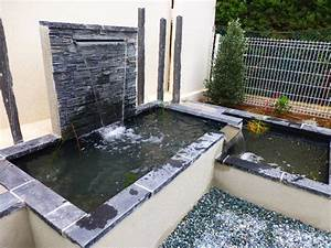 Jeux D Eau Jardin : bassins d 39 agr ments et jeux d 39 eau ~ Melissatoandfro.com Idées de Décoration