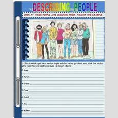 English Teaching Worksheets Describing People