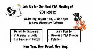 PTA Meeting Flyer Template