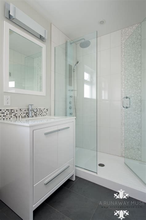 renovated bathroom ideas before and after 70 39 s split level renovation basement