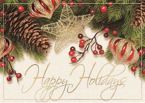 winterberry cheer holiday cards  images business