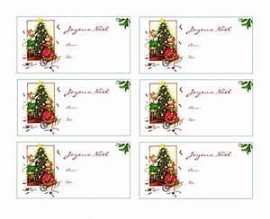 étiquettes De Noel à Imprimer : jolies tiquettes cadeaux de no l imprimer gratuitement ~ Melissatoandfro.com Idées de Décoration