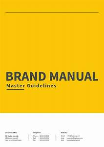 Brand Manual Guide By Royalcrown
