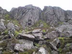 Large Rocks Above Path To Loch  U00a9 Simon Paterson    Geograph Britain And Ireland