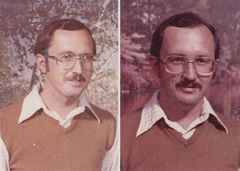 School Teacher Wears The Same Outfit For Yearbook Pictures