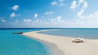 Tropical Maldives Beach Sand Widescreen Wallpapers Dual