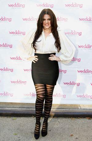 cute celebs pantyhose khloe kardashian