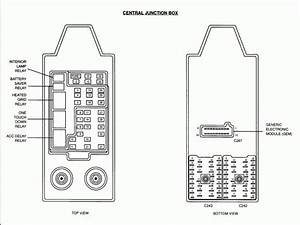 1997 Mercury Tracer Fuse Box Diagram