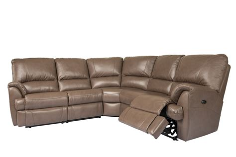 Power Sofa Recliners Leather by Elran Mylaine Sectional Room Concepts