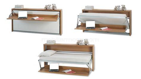 Lit Escamotable Bureau - lit bureau escamotable pliable modulable mobilier moss