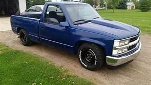 blue chevy truckwhite letter tires chevrolet trux With white letter tires on trucks
