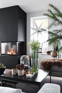 Objet Deco Design Salon : ambiance no l avec d coration naturelle pour la maison ~ Teatrodelosmanantiales.com Idées de Décoration