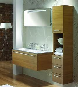 beautiful bain double vasque bois massif wenge pictures With meuble salle de bain wenge double vasque