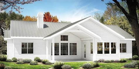 One Story Farmhouse Plans by Plan 25630ge One Story Farmhouse Plan My Home