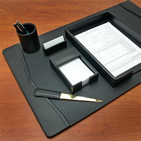 desk sets for him good personalized desk accessories chic and tidy