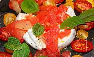 Schnelles Abendessen Für Gäste : burrata mit zitrus tomaten jules happyhealthylife ~ Markanthonyermac.com Haus und Dekorationen