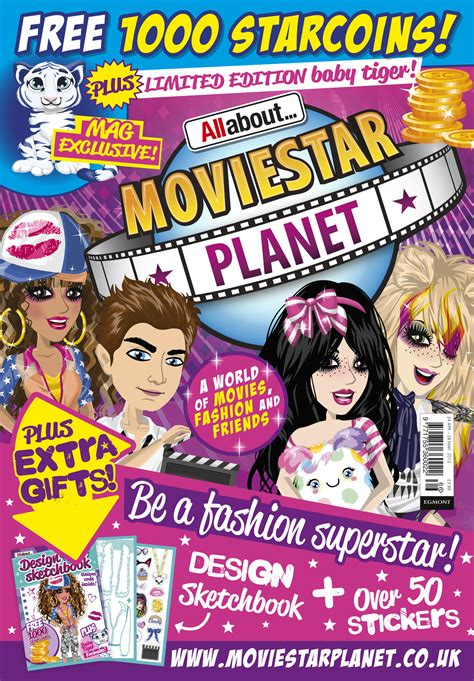 moviestarplanet magazine 2019