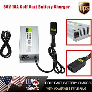 36 Volt 18 Amp Golf Car Cart Battery Charger Ez