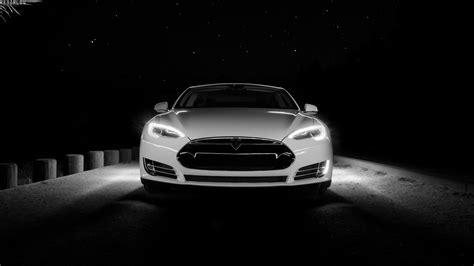 White Tesla Front 1920 X 1080 Hdtv 1080p Wallpaper
