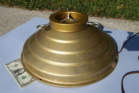 musical spinning tree stand vintage gold w glitter revolving musical tree holder stand beehive ebay