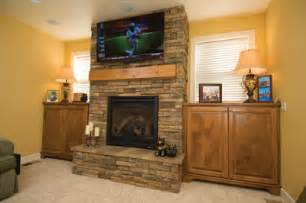 faced fireplace using stone veneer to build a drystack fireplace face extreme how to
