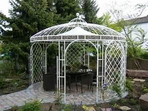 Pavillon Im Garten : gartenpavillon aus eisen panama 250 cm pulverbeschichtet rakuten ~ Eleganceandgraceweddings.com Haus und Dekorationen