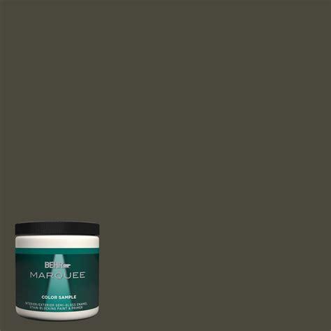 behr marquee 8 oz ppu24 01 black mocha gloss enamel interior exterior paint and primer