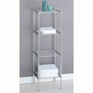Metal storage shelves target best storage design 2017 for Metal bathroom shelving unit