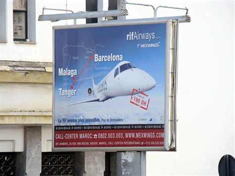 Rif Airways Morocco Billboard Ad   A billboard advertisement…   Flickr